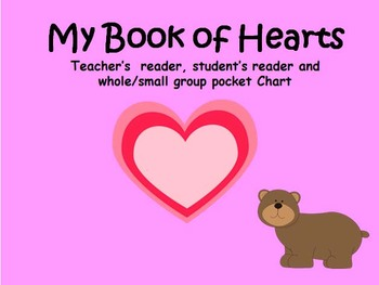 Valentine's Reader and Pocket Chart