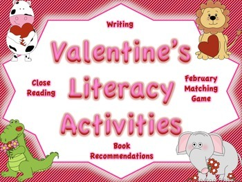 Valentine's Reading and Writing Activities