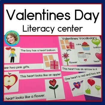 Valentines Sentence Picture Match