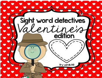 Valentines Sight Words