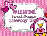 Valentine's Sweet Treats Word Work and Literacy Pack