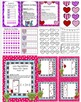 Valentine's Themed (10) CCSS Aligned ELA and Math Centers