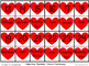 Number Letter Sequencing Activity Packet (Valentine Theme)