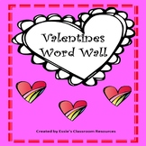 Valentines Word Wall