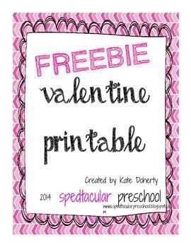 Valentines for Students Printable- FREEBIE