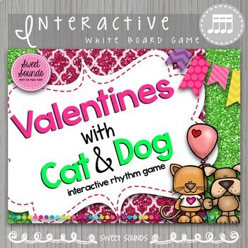 Valentines with Cat & Dog 4 Sounds on a Beat Takadimi {Int