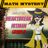 Valentine's Day Math Mystery Activity