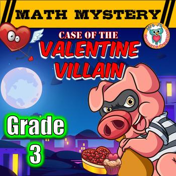 Valentine's Day Math Mystery Activity