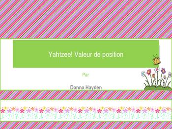 Valeur de position Yahtzee