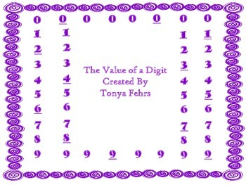 Value of a Number Task Cards