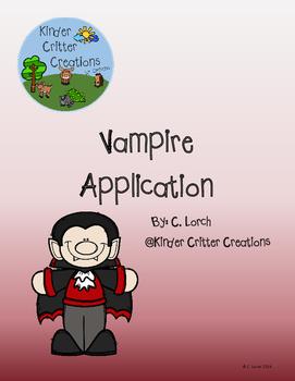 Vampire Application