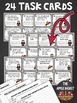 Vampires and Verbs Task Cards for Third Graders (Spooky Se