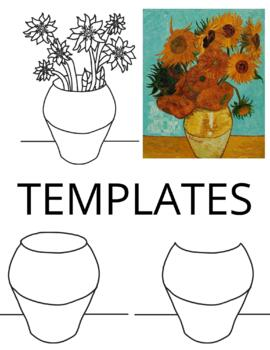 Van Gogh Still-Life Lesson Plan and Project for Primary or