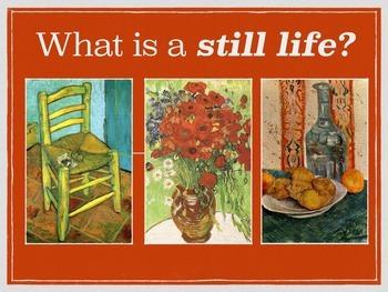Van Gogh inspired Still Life (Florals) PDF
