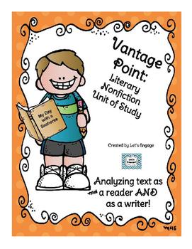Literary Nonfiction Unit of Study: Genre Vantage Point