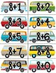 """Van""tastic Math Centers  6 Common Core Aligned Centers"