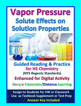 Vapor Pressure, Boiling Point, Effect of Solute -  Guided