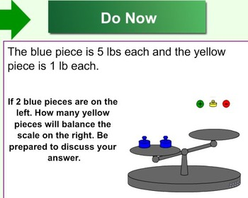 Variables & Expressions Smartboard