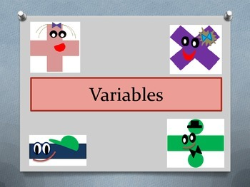 Variables: independent and dependent; graphs