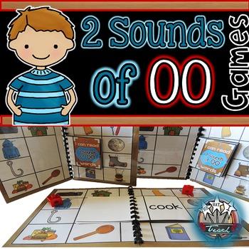 Variant Vowels: OO Phonics Games