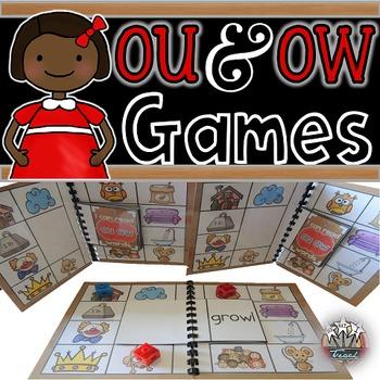 Variant Vowels:  OU OW Games