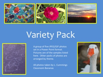 Variety Pack of Photos