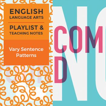 Vary Sentence Patterns