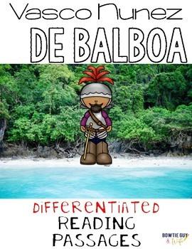 Vasco Nunez De Balboa {Differentiated Close Reading Passag