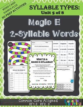 Silent E (Magic E)