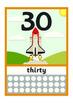 Vehicle Numbers / Numberline 0 to 30