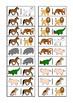 Animal Domino Game, Turn Taking Skills for Autism & Specia
