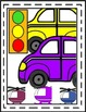 Vehicles~Transportation {Land & Water} Colorful!  Borders,