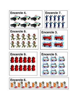 Véhicules d'urgence (Emergency vehicles in French) countin