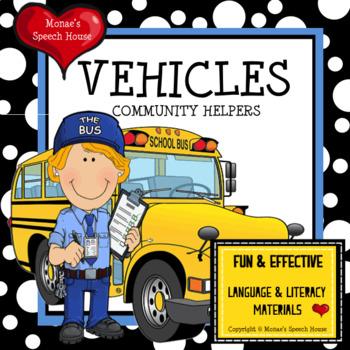 Vehicles Community Helpers