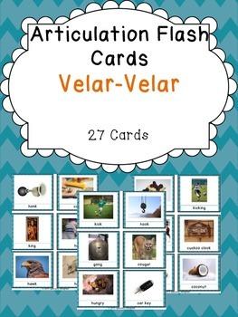 Apraxia & Articulation Cards Velar-Velar