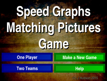 Velocity-Time, Displacement-Time Graphs Matching Pairs Pic