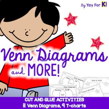Venn Diagram Cut and Glue Freebie!