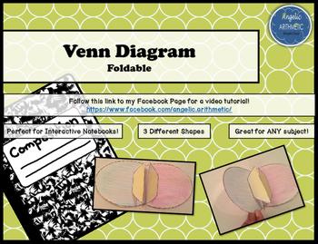 Venn Diagram Foldable