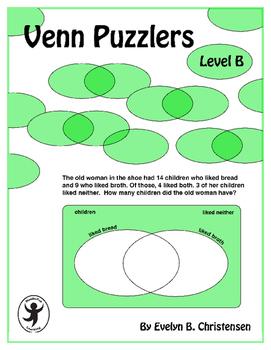 Venn Puzzlers Level B