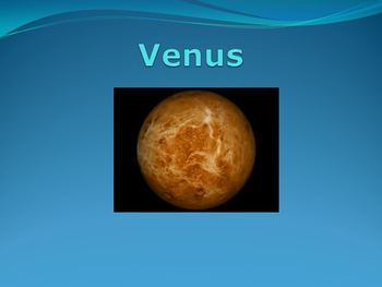 Venus Planet Powerpoint