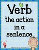 Verb Activities {Anchor Charts, Center, Worksheets, Quiz & MORE!}