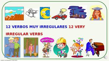Verb Conjugation –Past Tense/12 Irregular Verbs. (PPT  #02)