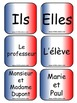 """Verb Conjugation -IR Verbs (French) """"Learning cube Inserts"""""""