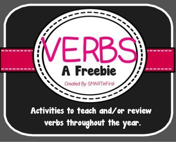 Verb Freebie- Doodle a Verb