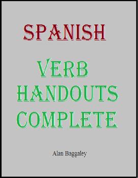 Spanish Verb Handouts Complete