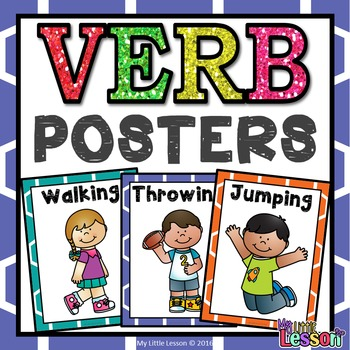 Verb Posters