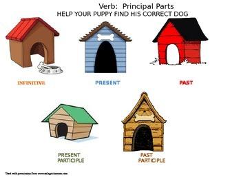 Verb Principal Parts Game