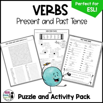 Verb Puzzles and Activities