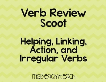 Verb Review Scoot