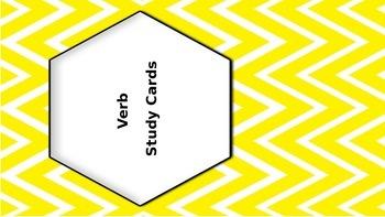 Verb Study Cards